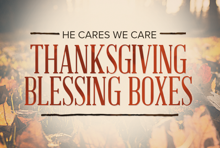 Thanksgiving Blessing Boxes